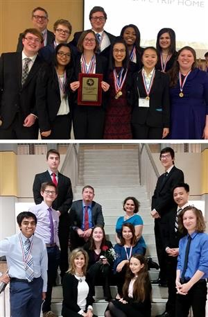 Pearland Academic Decathletes Headed To State