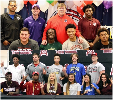 Pearland Athletes National Signing Day